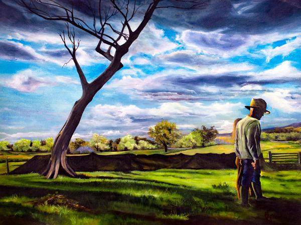 Farmers Love Art | Jones Family Art