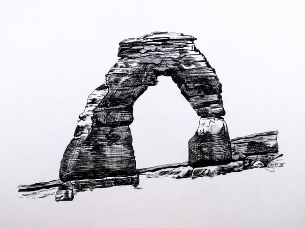 Jones Family Art Delicate Arch