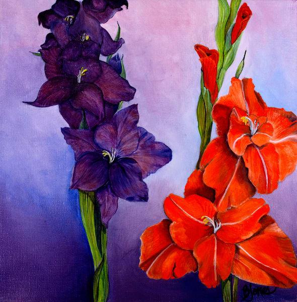 Gladiolas2 Art | Jones Family Art