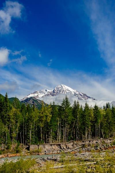 Mount Rainier, Nisqually River, Washington, 2016