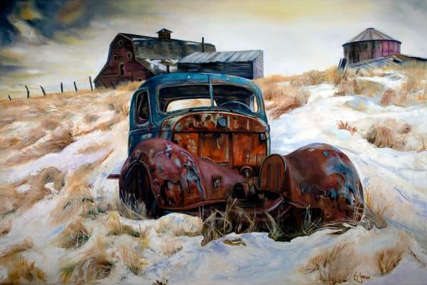 Winter Chill Art | Jones Family Art