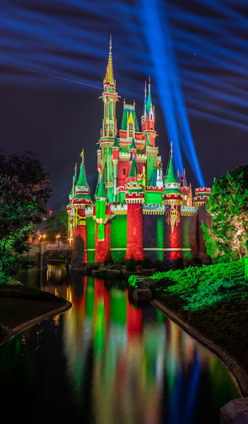 Christmas Scene 4 From Tomorrowland At Night Disney Phone Case Photography Art | William Drew Photography