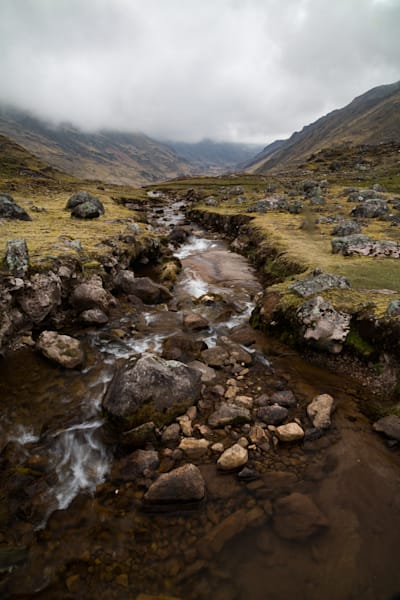 Stream through the Andes