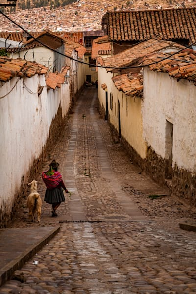 Out for a walk in Cusco