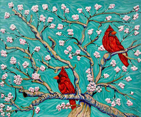Cherry Blossom Art   Anthony Joseph Art Gallery