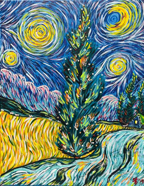 Cypress Tree Art | Anthony Joseph Art Gallery