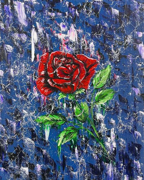 Lady In Red Art | Anthony Joseph Art Gallery