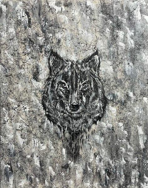 Shadow Wolf Art | Anthony Joseph Art Gallery