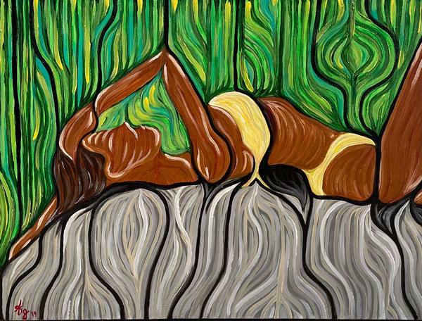 Sunbath Art   Anthony Joseph Art Gallery
