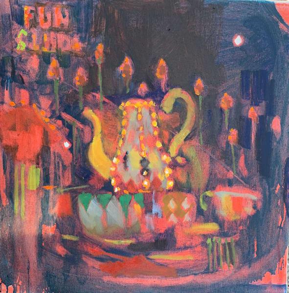 Carnival Night Art | Bkern Fine Art