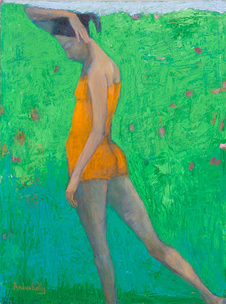 Green Garden Art | Andrea kelly Fine Arts