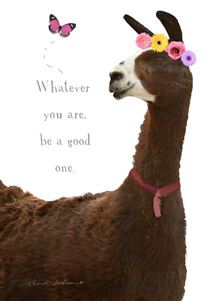 Whimsical Llama Art