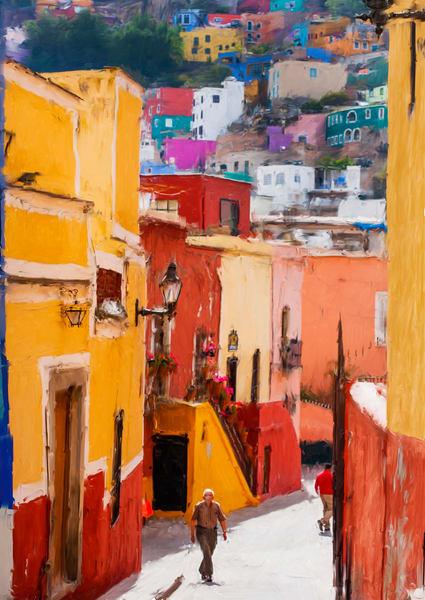 Guanajuato Street Art | Rick Peterson Studio