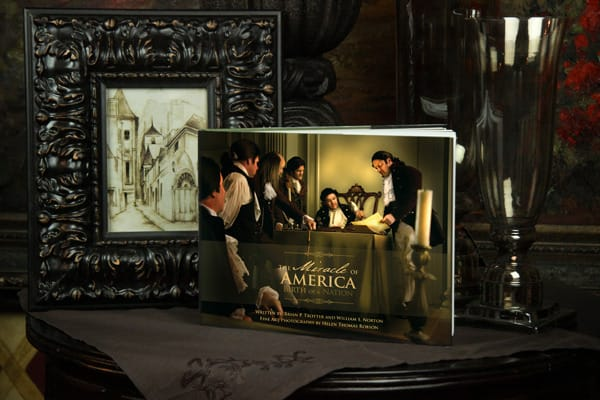 The Miracle Of America Book Art | Captured Miracles Production, and Helen Thomas Robson byDESIGN