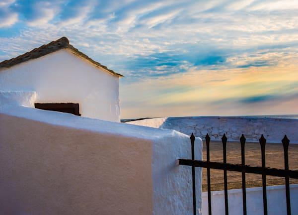 Little White House At Sunrise #1, Skopelos Photography Art | Ben Asen Photography