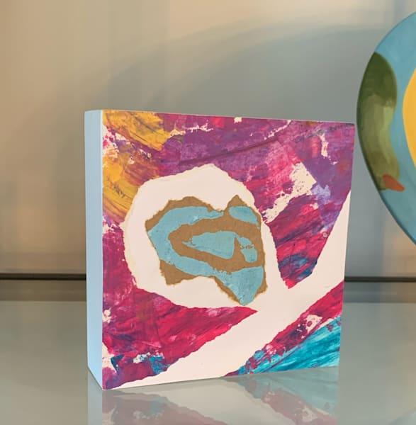 Accent Block I Art | Julie Brown Art