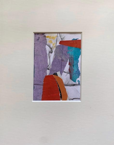Violet Collage Art | Julie Brown Art