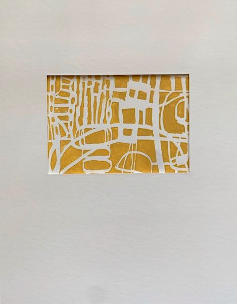 Yellow Grid 1 Art | Julie Brown Art