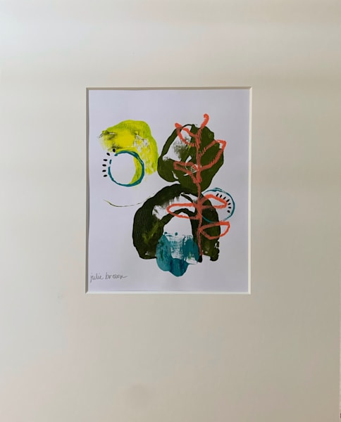 Mono Print I Art | Julie Brown Art