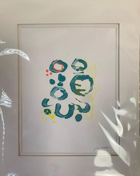 Mono Print Ii Art | Julie Brown Art