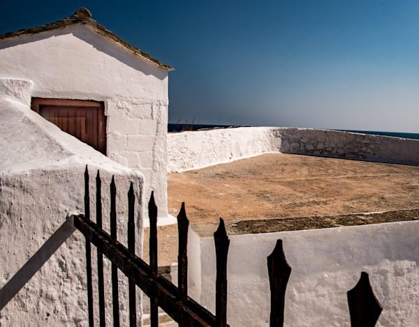 Little White House In Sunlight, Skopelos Photography Art | Ben Asen Photography