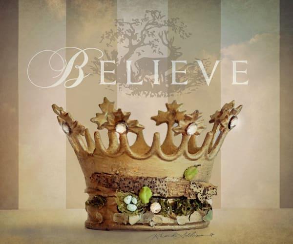 Believe Nature Crown Art