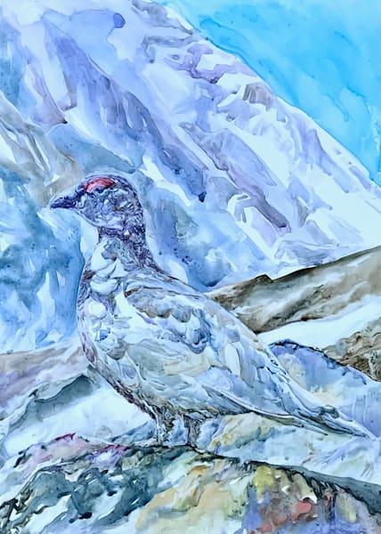 Walks Slowly Through The Tundra Art | Karen Bishop Artist