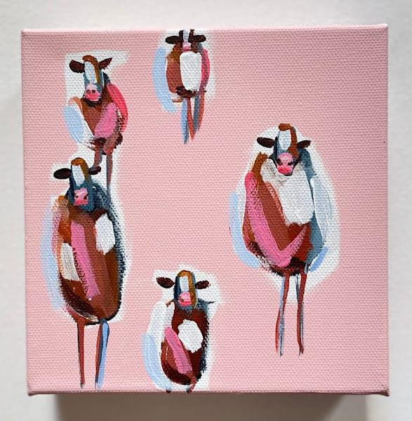 Mini Cows Blush  | Lesli DeVito