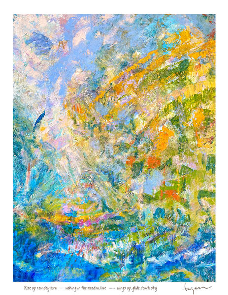 Prism of Love, Inspirational Art Paintings Prints by Dorothy Fagan