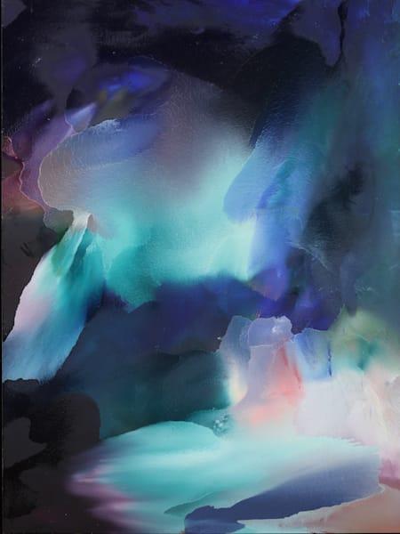 Usha Shukla Art - Sunshine Blue