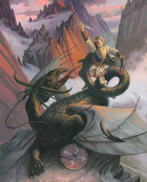 Dragon Slayer Art | Studio Girard