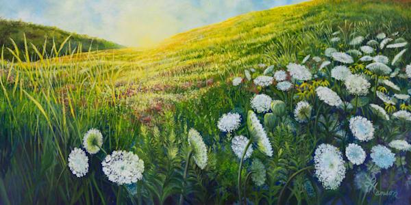 Queen Ann S Hill Art   Leanne Hanson Art