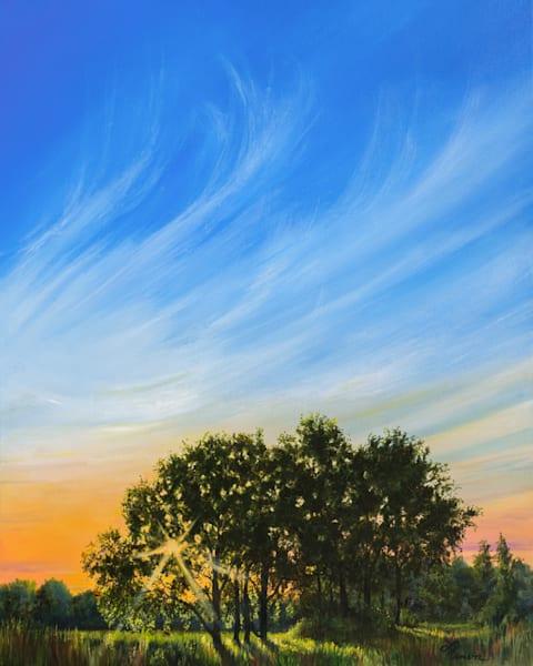 Roadside Sunset 1 Art | Leanne Hanson Art