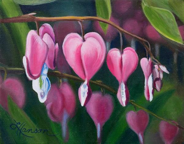 Bleeding Hearts Art | Leanne Hanson Art
