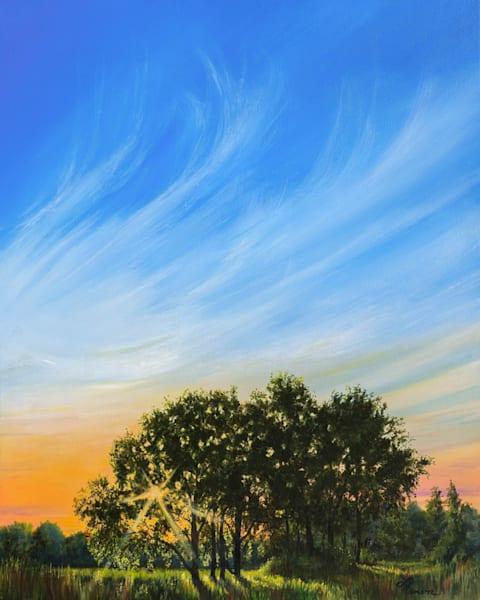 Roadside Sunset #1 Art | Leanne Hanson Art