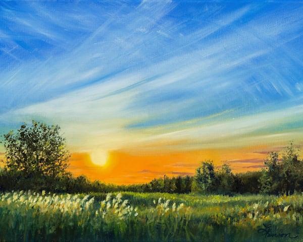 Roadside Sunset #2 Art | Leanne Hanson Art