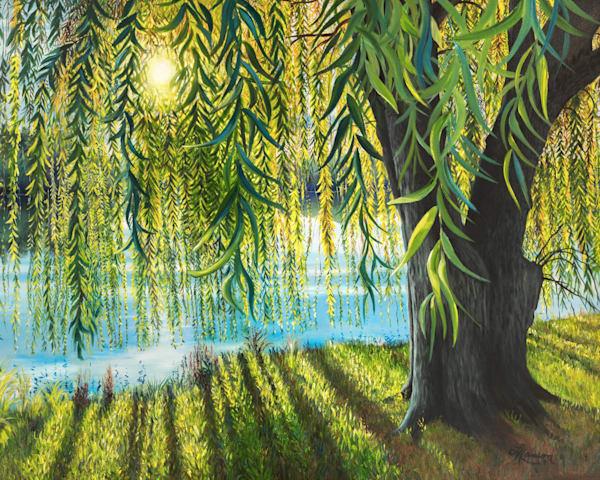 Morning Willow Art | Leanne Hanson Art