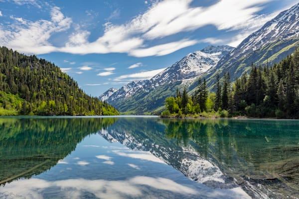 Ptarmigan Lake in Alaska