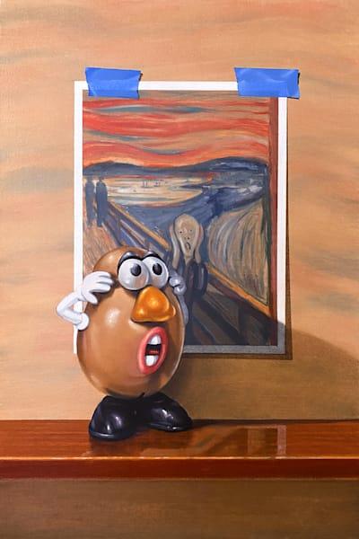 Tater Tantrum Art | Richard Hall Fine Art