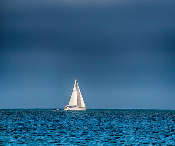 Dark Clouds Sailing Art   Michael Blanchard Inspirational Photography - Crossroads Gallery