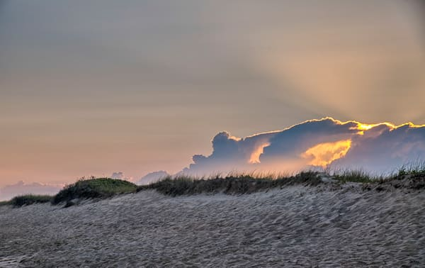 South Beach Clouds And Light Rays Art | Michael Blanchard Inspirational Photography - Crossroads Gallery