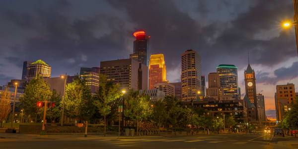 Park Ave and S 4th St - Minneapolis Art | William Drew Photography