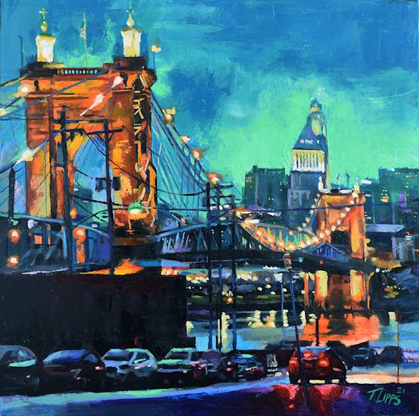 City Glow Art | tonylippsart