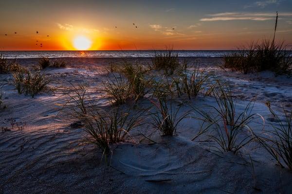 Tybee Beach Sunrise