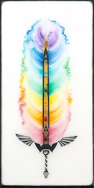 Chakra Sword Art   Breathe Art Paintings