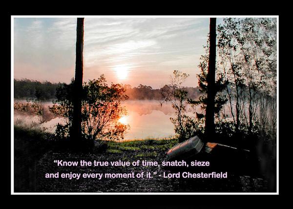 Mini Mat Time Value Photography Art   It's Your World - Enjoy!