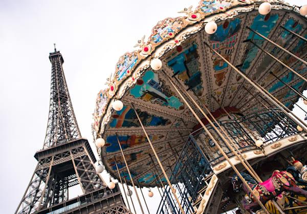Paris Carousel  Photography Art | Visual Arts & Media Group Corporation