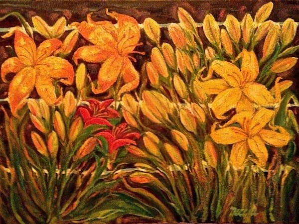 Virginia's Lilies Art | Wild Ponies creations