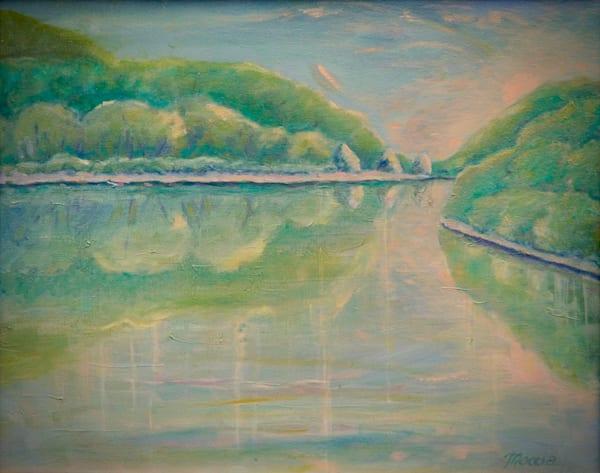 Missouri River Dawn Art | Wild Ponies creations