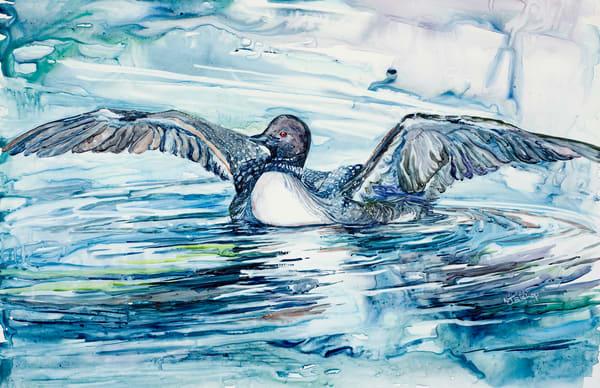 Call Up A Storm Art | Karen Bishop Artist